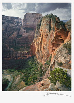 Card of Angel's Landing