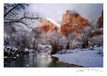 Zion Winter - David Pettit Photography