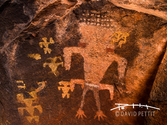 Petroglyph Cave Valley
